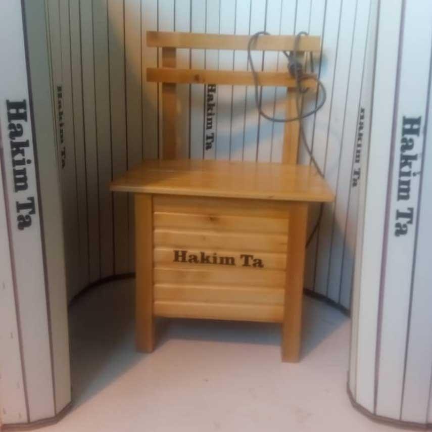 تصویر دستگاه لاغری اتاق سونای خشک