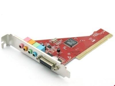 تصویر کارت صدا اینترنال PCI | کارت Sound Card