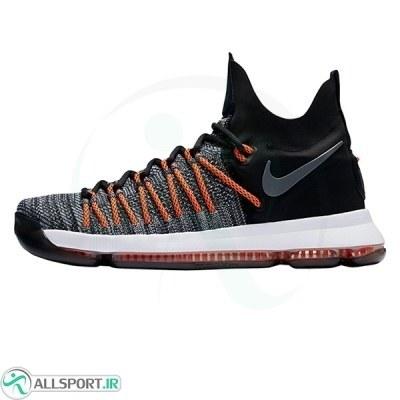 کفش بسکتبال مردانه نایک مشکی نارنجی Nike KD 9 Elite Orange Black