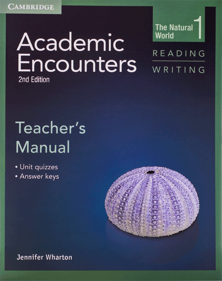 Academic Encounters 2nd 1 Reading and Writing Teachers Manual |