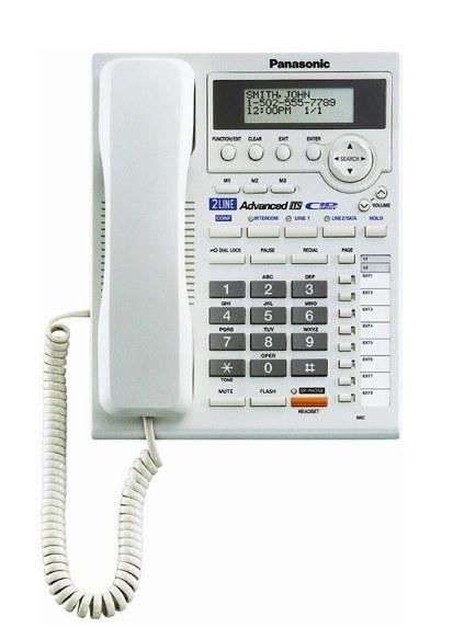 تصویر گوشی تلفن ثابت پاناسونیک Panasonic Corded Telephone KX-TS3282BXW