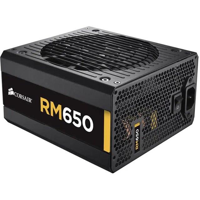 تصویر پاور 650 وات کورسیر مدل CORSAIR RM650 Gold