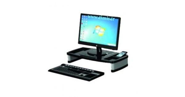 عکس پایه مانیتور قابل تنظیم سنا پلاستیک مدل 801 Monitor Stand Sana Plastic 801 پایه-مانیتور-قابل-تنظیم-سنا-پلاستیک-مدل-801