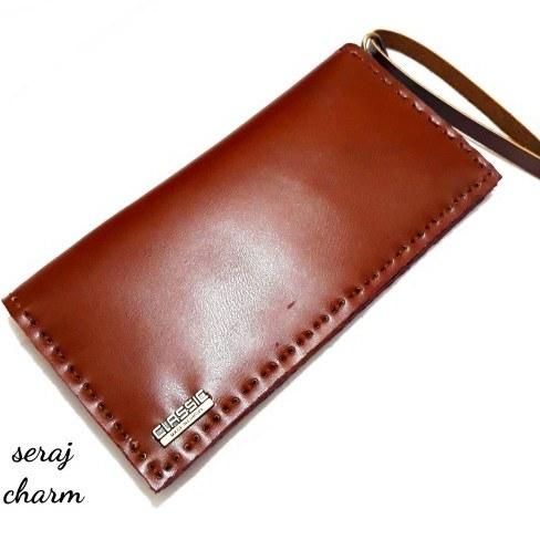 کیف پول چرمی مردانه دست دوز |