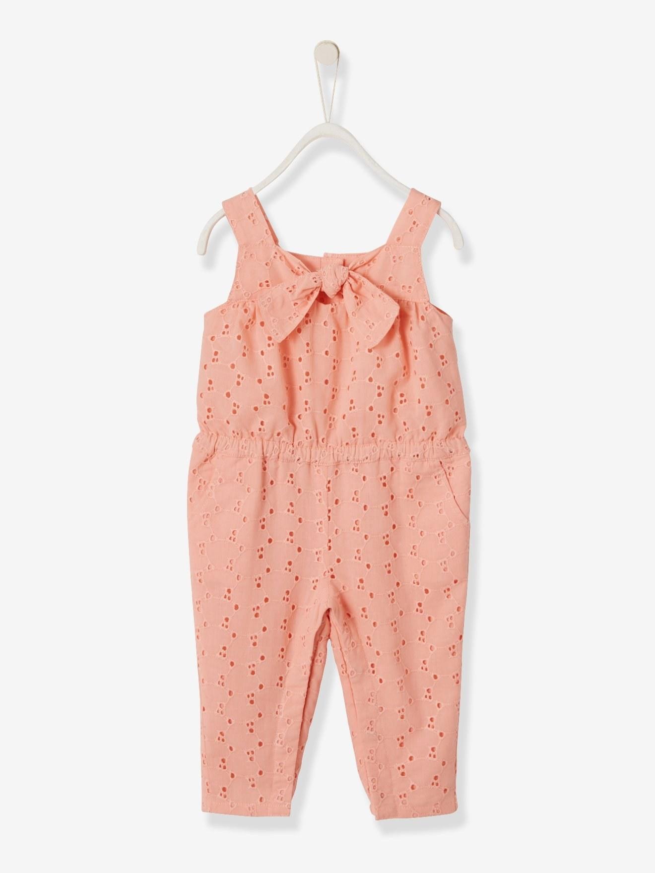 بچگانه - لباس نوزاد سرهمی دخترانه ورت فرانسه مدل koralle |