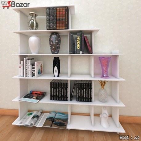کتابخانه هفت + پنج خانه مربع مستطیل ترکیبی |