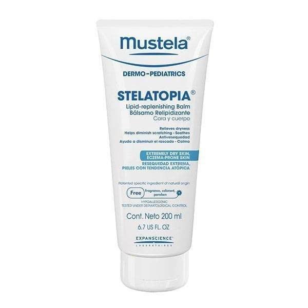کرم نرم کننده و مرطوب کننده صورت و بدن استلاتوپیا موستلا