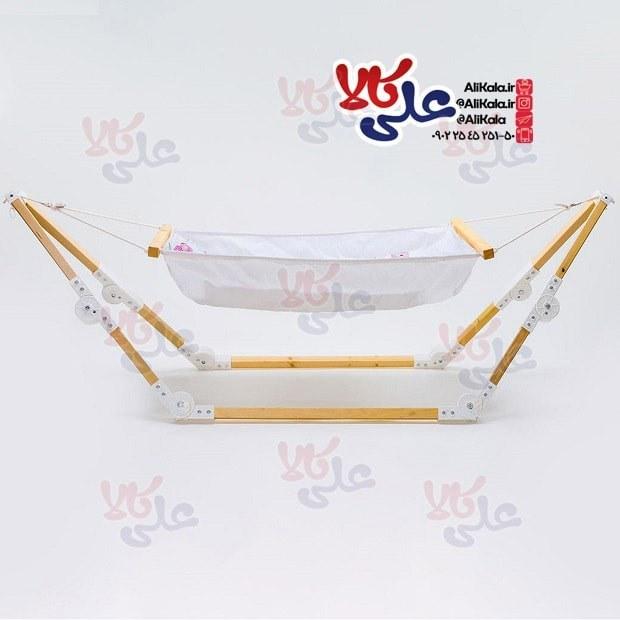 تصویر گهواره سنتی نوزاد آسای بانوج مدل لاوین