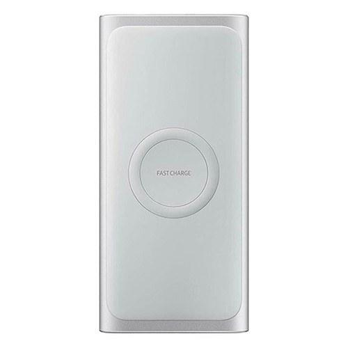 تصویر پاور بانک سامسونگ مدل EB-U1200CSEGAE ظرفیت 10000 میلی آمپر ساعت ا Samsung EB-U1200CSEGAE 10000mAh Wireless Battery Pack Samsung EB-U1200CSEGAE 10000mAh Wireless Battery Pack