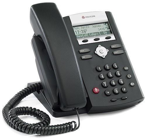 تصویر تلفن VoIP پلی کام مدل SoundPoint IP 330  تحت شبکه