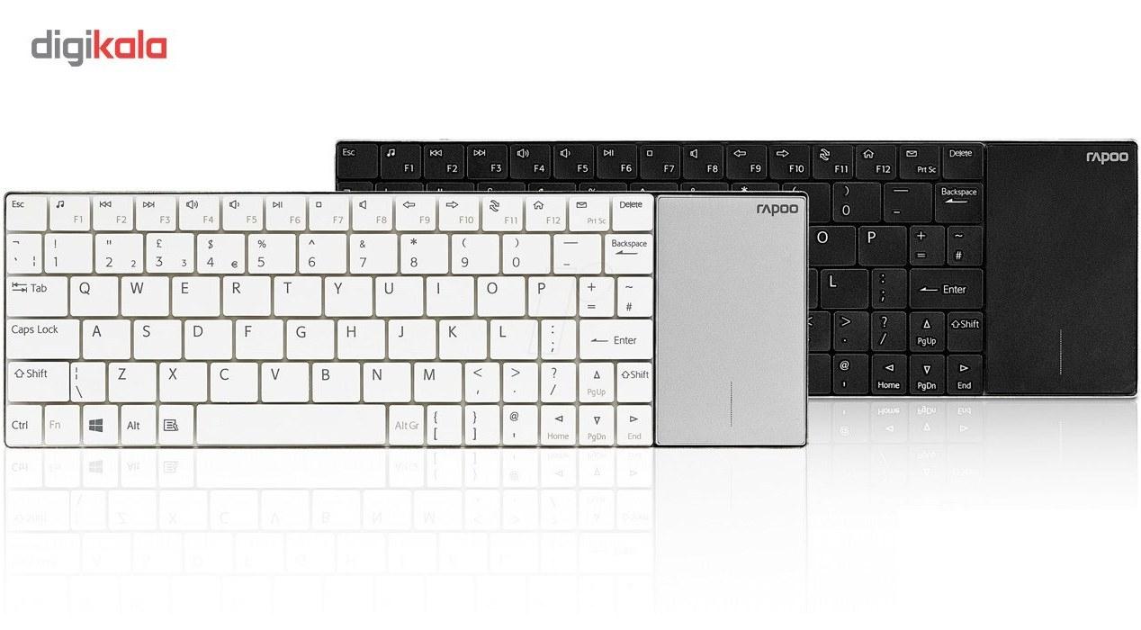 تصویر کیبورد بیسیم رپو مدل E2710 کیبورد رپو E2710 Wireless Keyboard