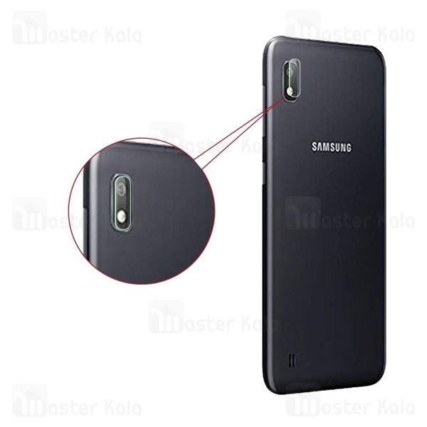 محافظ لنز دوربین شیشه ای موبایل سامسونگ Samsung Galaxy A10