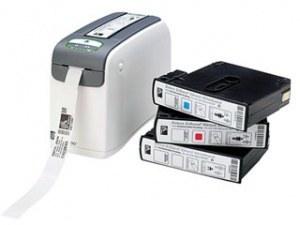 تصویر لیبل پرینتر مچ بند بیمار  HC100 زبرا Zebra HC100 Thermal Receipt Printer
