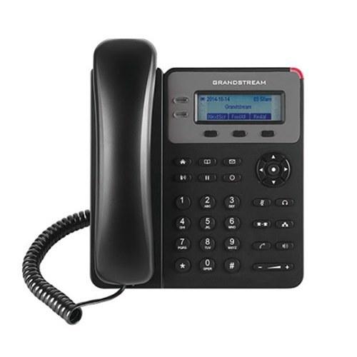 تصویر تلفن تحت شبکه باسیم گرنداستریم مدل GXP1610 تلفن VoIP گرنداستریم GXP1610 1-Line Corded IP Phone