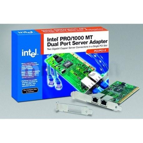 عکس کارت شبکه اینترنال اینتل مدل PRO/1000 MT Intel PRO-1000 MT Dual Port  کارت-شبکه-اینترنال-اینتل-مدل-pro-1000-mt-intel-pro-1000-mt-dual-port