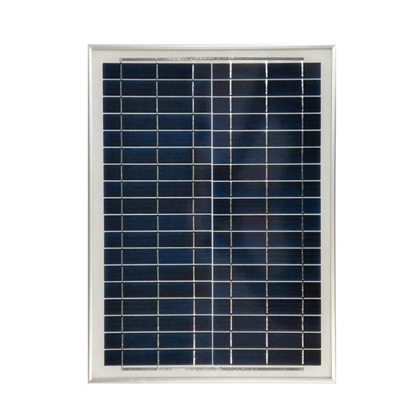 تصویر پنل خورشیدی 20وات پلی کریستال رستار سولار