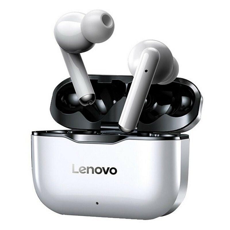 تصویر هدفون بی سیم لنوو مدل LivePods lp1 Lenovo LivePods lp1 Wireless Headphones