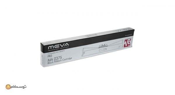 تصویر ریبون پرینتر سوزنی PR2 مدل MEVA MA 0375 MEVA MA 0375 Black Ribbon Cartridge