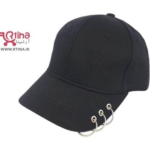 تصویر کلاه کپ دخترانه اسپرت حلقه دار (8سال به بالا)