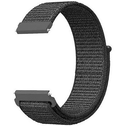 تصویر بند یدک پارچه ای مناسب ساعت هوشمند سامسونگ از 40 تا 42 میلیمتر Galaxy Watch, Active2, Gear S2 Classic Quick Release Watch Band Compatible with Samsung Galaxy Watch , Samsung Active 2 / Gear S2 Classic