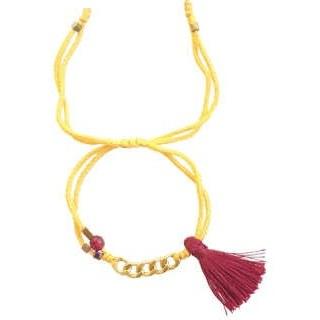 دستبند طلا 18 عیار گرامی گالری مدل B703 | Geramy Gallery B703 Gold Bracelet