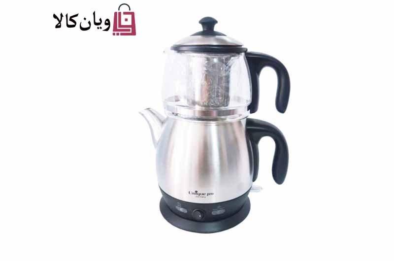 تصویر چای ساز روهمی یونیک Unique مدل 1204 Unique pro Tea Maker 2000 watts Model 1204