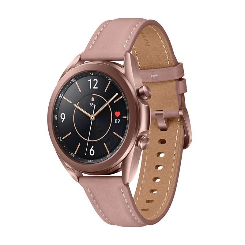 تصویر Leatherband Smart Watch Samsung Galaxy Watch3 41mm R850 ساعت هوشمند گلکسی واچ 3 سایز 41 میلیمتر