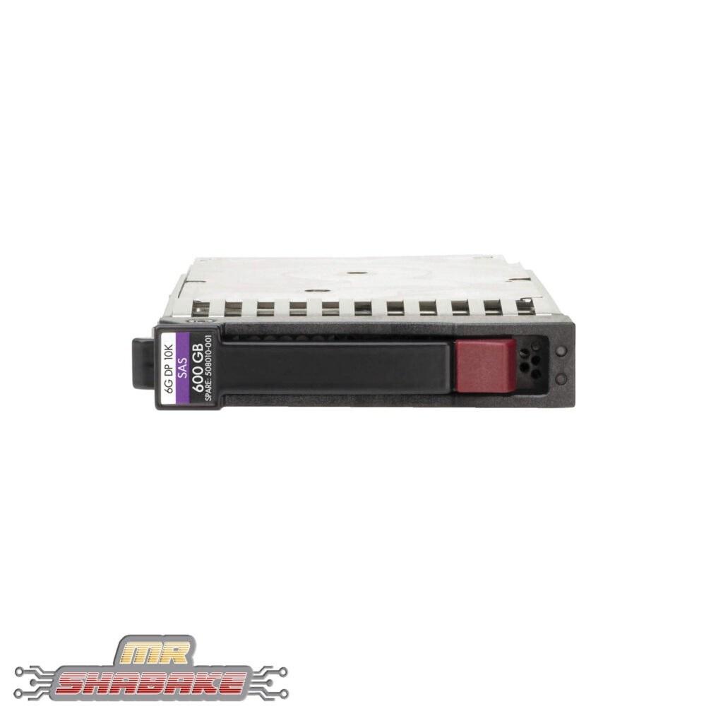 تصویر هارد سرور اچ پی مدل 600GB 6G SAS 10K rpm SFF SC