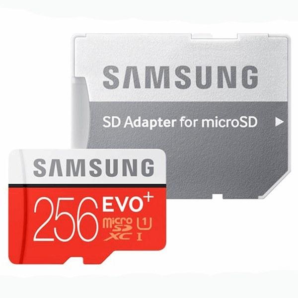 عکس مموری سامسونگ کلاس ۱۰ استاندارد UHS-I U3 سرعت ۹۸MBps ظرفیت ۲۵۶ گیگابایت Samsung UHS-I U3 Class 10 98MBps SDXC 256GB مموری-سامسونگ-کلاس-10-استاندارد-uhs-i-u3-سرعت-98mbps-ظرفیت-256-گیگابایت
