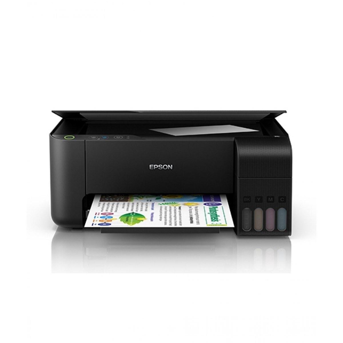 main images پرینتر چندکاره جوهرافشان اپسون مدل L3110|مشکی EPSON L3110 Multifunction Inkjet Printer