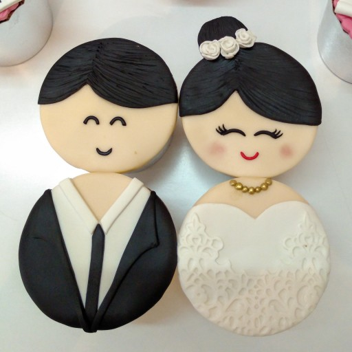 کاپ کیک سالگرد ازدواج