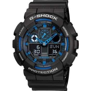 ساعت مچی عقربه ای مردانه کاسیو جی شاک GA-100-1A2DR | Casio G-Shock GA-100-1A2DR