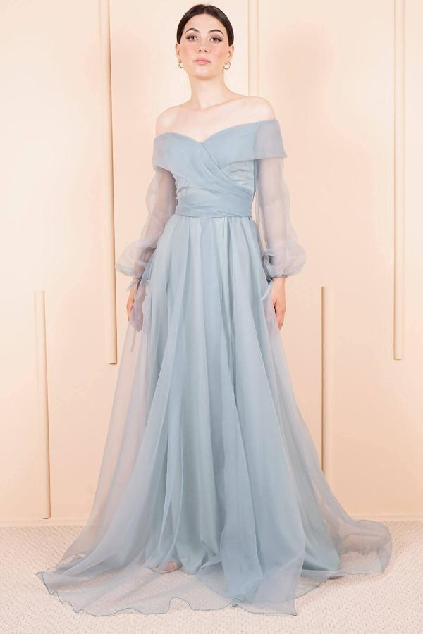 تصویر خرید پستی لباس مجلسی شیک زنانه برند SpringStore رنگ سبز کد ty46128403