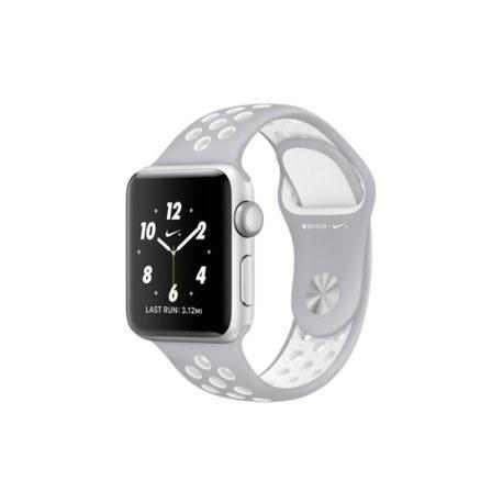 ساعت مچی هوشمند اپل واچ۲ ۳۸ میلیمتر با بند لاستیکی مشکی