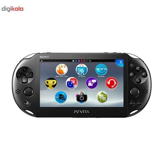img کنسول بازي پرتابل سوني مدل Playstation VIta کد PCH-2016 ريجن 2 - 8 گيگابايت Sony Playstation Vita Region 2 Wi-Fi PCH-2016 8 GB Game Console