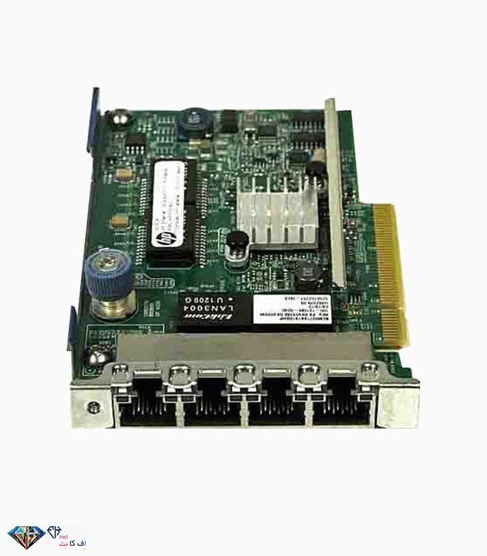 تصویر کارت شبکه اچ پی HP Ethernet 1Gb 4-port 331FLR Adapter