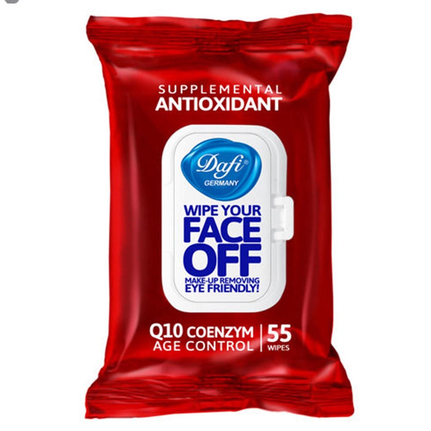 تصویر دستمال پاک کننده آرایش آنتی اکسیدان 55عددی دافی ا ���������� ����������