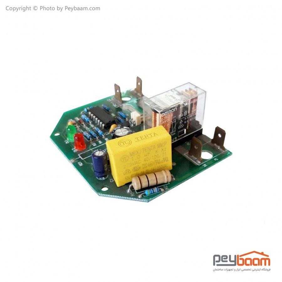تصویر برد ست کنترل پمپ آب امرون Pentax مدل PC-15 Omron Pentax Water Pump Control Board