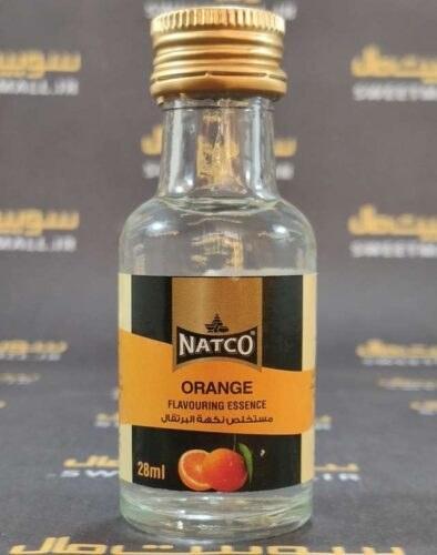 تصویر اسانس خوراکی ناتکو طبیعی و طعم دهنده 28 میل Natco-پرتقال