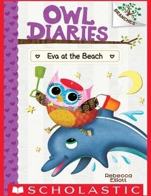 تصویر خرید کتاب Eva at the Beach : Owl Diaries Series, Book 14 دانلود pdf کتاب Eva at the Beach : Owl Diaries Series, Book 14