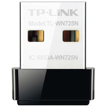 کارت شبکه USB بی‌ سیم N150 Nano تی پی-لینک مدل TL-WN725N | TP-LINK TL-WN725N Wireless N150 Nano USB Network Adapter