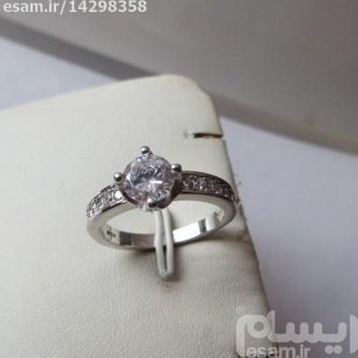 عکس انگشتر  زنانه نقره سولیتر بسیار ظریف و زیبا انگشتر زنانه نقره سولیتر مجلسی 3.45g انگشتر-زنانه-نقره-سولیتر-بسیار-ظریف-و-زیبا