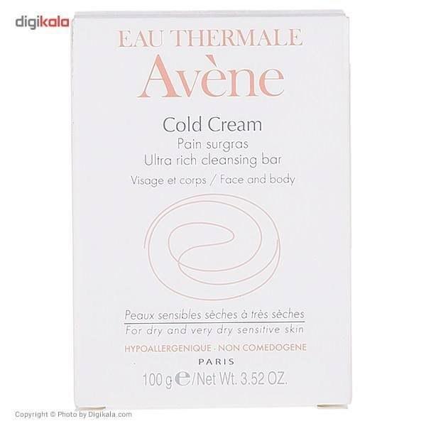 عکس پن التراریچ کلد کرم Cold Cream اون 100 میلی لیتر avene Cold Cream Ultra Rich Cleansing Bar 100 ML پن-التراریچ-کلد-کرم-cold-cream-اون-100-میلی-لیتر