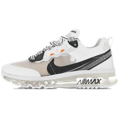 کفش مخصوص پیاده روی مردانه نایک مدل Nike Air Max 2017 x React Element 87 White