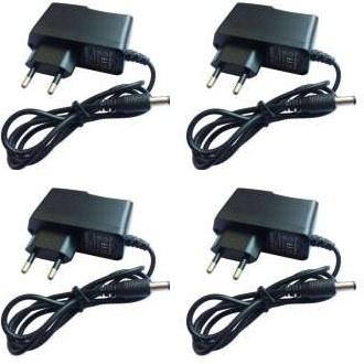 آداپتور 12 ولت 1 آمپر مدل HC-121000 بسته 4 عددی  