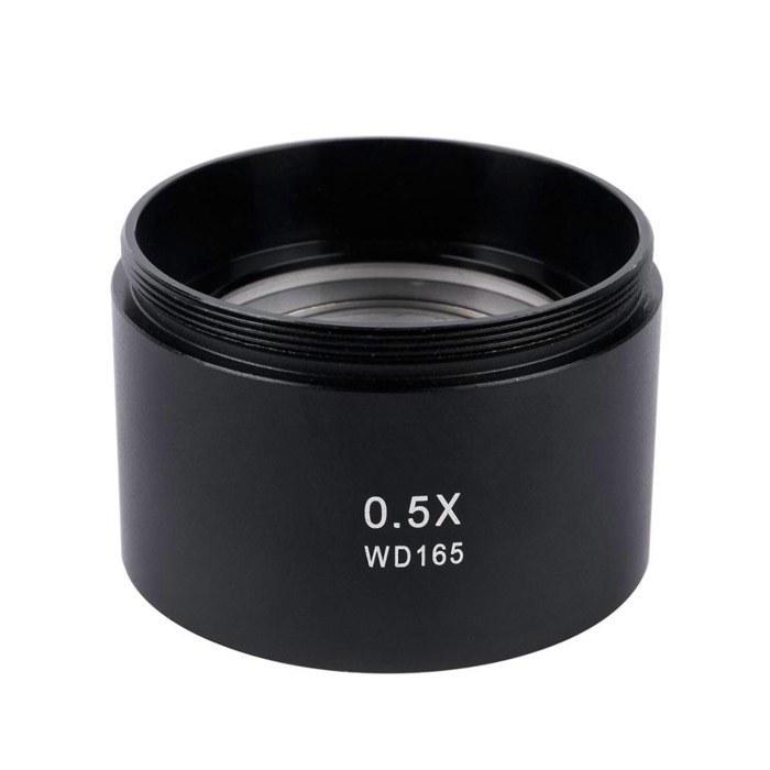 تصویر لنز کمکی لوپ واید wd165 مناسب بزرگ نمایی 0.5 برابر بیشتر