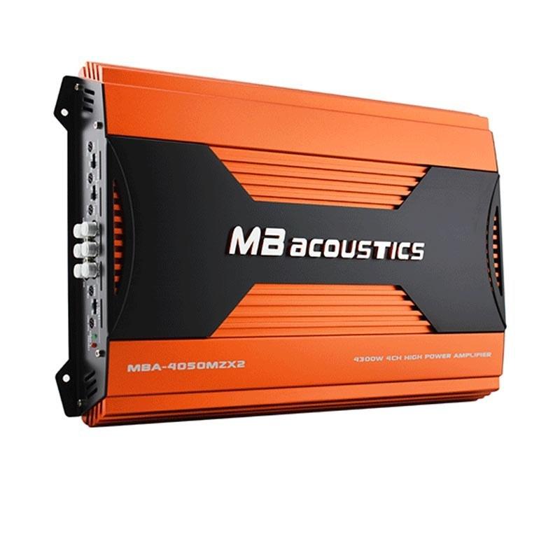 تصویر آمپلی فایر ام بی آکوستیک مدل MBA-4050MZX2 MB Acoustics MBA-4050MZX2 Car Amplifier