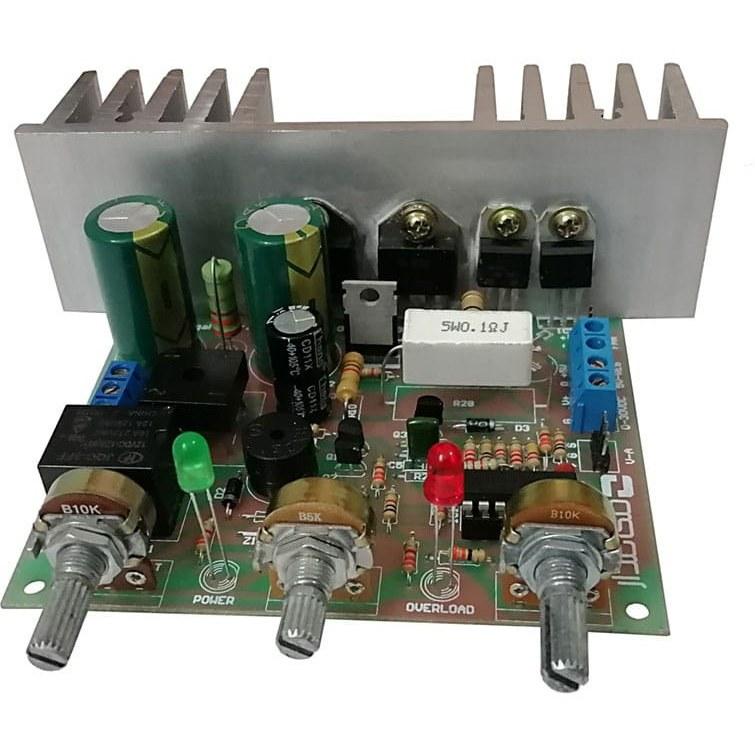 تصویر کیت منبع تغذیه متغیر آزمایشگاهی مدل PSU-103