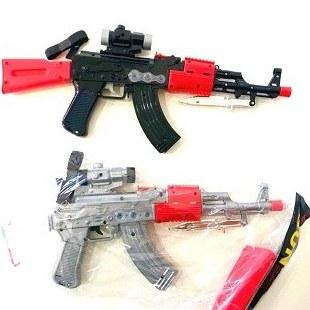 تصویر تفنگ اسباب بازی سرنیزه دار