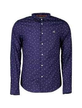 پیراهن نخی آستین بلند مردانه | Men Cotton Long Sleeve Shirt